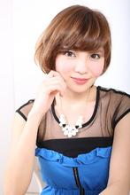 ☆耳かけ×大人可愛いオールマイティボブ☆|Rue D'or 春日井店のヘアスタイル
