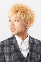 ハイトーンカラーのラフショート|Hair Make SAMSARA 宮脇店のヘアスタイル