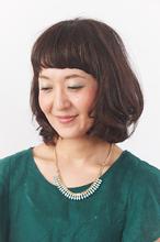 カジュアルさをブレンドした大人ボブ|Hair Make SAMSARA 宮脇店のヘアスタイル