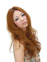 ロングカールヘアー|美容室 Lucky Hair 中山店のヘアスタイル