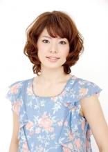 フェミニンウルフ|美容室 Lucky Hair ダイエー多田店のヘアスタイル