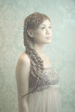 編み込みプリンセススタイル|Cia birthのヘアスタイル