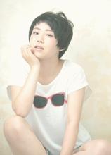 短め前髪☆シンプルショート|Cia birthのヘアスタイル