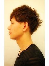 さりげない2ブロックショート☆|Cia birthのメンズヘアスタイル