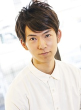 ツーブロックニュアンスショート☆ Carat hair makesのメンズヘアスタイル