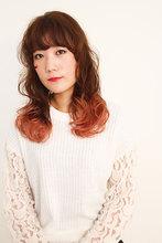 毛先グラデカラー☆|WISTARIA FIELD PLANCHESのヘアスタイル