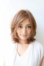 フェミニン☆エアリーミディ|VASTYのヘアスタイル