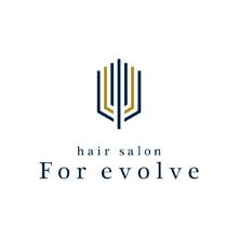 For evolve    フォー イボルブ  のロゴ