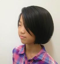 お姉さん可愛い!|NIDOL for hairのキッズヘアスタイル