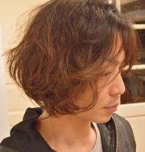 DRYでソフトカール WETでハードパーマ|NIDOL for hairのメンズヘアスタイル