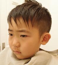 子供でもお洒落ショート|NIDOL for hairのキッズヘアスタイル
