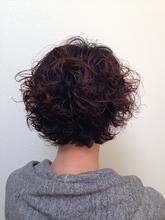 柔らかカーリーボブ|美容室 寛技のヘアスタイル