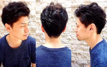 ツーブロックにはしたくないけど、横と後ろはスッキリさせたい人に。|hair Launge TRiPのメンズヘアスタイル