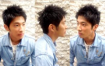 丸みを残しながらの短髪。|hair Launge TRiPのメンズヘアスタイル
