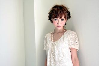 ねじり編み花冠|ricoのヘアスタイル