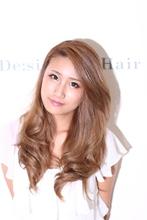 【大人気カラー】クリアベージュ De:sign for Hairのヘアスタイル