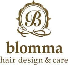 blomma hair design&care  | ブロンマ ヘアデザインケア  のロゴ