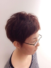 スタイリッシュショート|PIECEのヘアスタイル