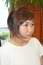 シンプルなショートスタイル|M-HAIRのヘアスタイル