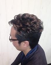 おしゃれオールバック|Cierge 新丸子店のメンズヘアスタイル