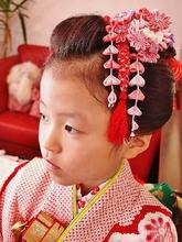 七五三 日本髪ヘア|Cierge 新丸子店のキッズヘアスタイル