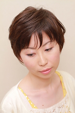 サマーボブ 美容室 ZIKのヘアスタイル
