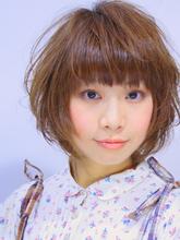 ゆるふわ♪ショートボブパーマ|hair salon Hiviraのヘアスタイル