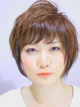 ローライト☆ショートパーマ|hair salon Hiviraのヘアスタイル