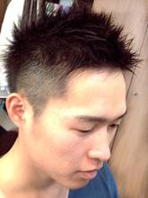 スパイキーショート Ricca hairのメンズヘアスタイル