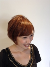 くせ毛風ショート|Begiornoのヘアスタイル