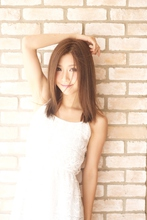 ☆ツヤツヤストレート☆ hair lounge ohanaのヘアスタイル