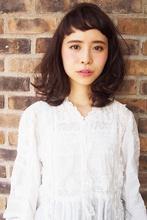 春のミディアムパーマstyle☆|momoのヘアスタイル
