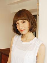 【MRK】ナチュラルボブ☆ベージュカラーで上品な可愛さ♪|MRK Hair & Makeのヘアスタイル