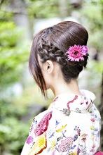 Kimono 2|Me Ka Mahalo Pauoleのヘアスタイル