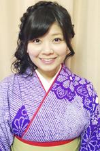 Kimono 3|Me Ka Mahalo Pauoleのヘアスタイル