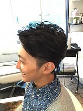 爽やかアップバング|hair make Peaceのメンズヘアスタイル