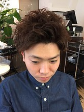 NAKAI Specialパーマ|hair make Peaceのメンズヘアスタイル