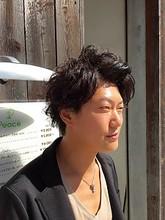 Nakai original perm|hair make Peaceのメンズヘアスタイル