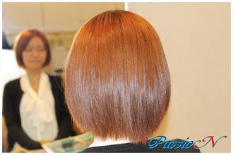 大人可愛いボブスタイル 美容室 PassioN 志村三丁目店のヘアスタイル