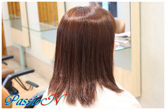 サラサラ☆ストレートヘア 美容室 PassioN 志村三丁目店のヘアスタイル