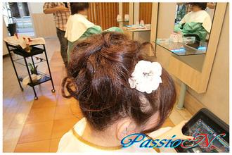 お呼ばれヘアスタイル☆フルアップ 美容室 PassioN 志村三丁目店のヘアスタイル
