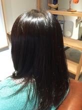 サルスト 毛先はずし からの 糖質仕上げ|fileveのヘアスタイル