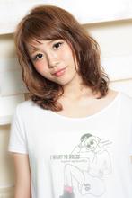 前髪短めキュート柔らかヘア|LIBERTY-A 西大島店のヘアスタイル