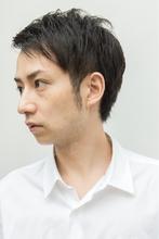【ARISE 都立大学】ツーブロックメリハリショート|ARISEのメンズヘアスタイル