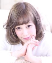 愛され小顔☆フェミニンボブ|Hair Frais Make Yokohamaのヘアスタイル