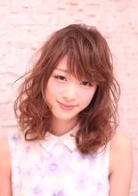 外国人風ミディアム|Hair Frais Make Yokohamaのヘアスタイル