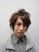 エッジーボブ Rize Hairのメンズヘアスタイル