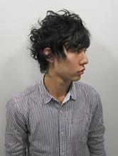 MIXカーリーショート Rize Hairのメンズヘアスタイル