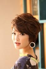 柔らかマッシュショート|Hair Design entier のヘアスタイル