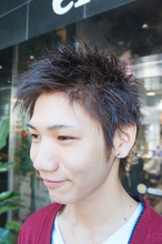 ベリーショート|Hair Design entier のメンズヘアスタイル